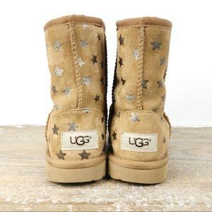 Ugg Girls Classic Short 2 Stars Boots